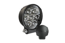 "JW Speaker 0550483 6"" Round LED Auxiliary Light- Pencil Pattern"