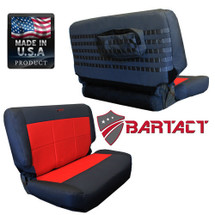 Bartact MSSCTJ9702R Mil-Spec Rear Bench Seat Cover for Jeep Wrangler TJ 1997-2002