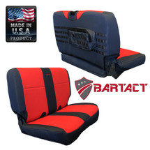 Bartact MSSCTJ0306R Mil-Spec Rear Bench Seat Cover for Jeep Wrangler TJ/LJ 2003-2006