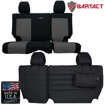 Bartact MSSCJK4D07R Rear Bench Seat Cover for Jeep Wrangler JK 4 Door 2007