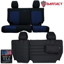 Bartact MSSCJK4D0810R Rear Bench Seat Cover for Jeep Wrangler JK 4 Door 2008-2010