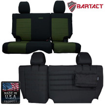 Bartact MSSCJK4D1112R Mil-Spec Rear Bench Seat Cover for Jeep Wrangler JK 2011-2012