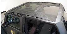 Bestop 52401 Safari Style Sun Bikini for Jeep Wrangler JK 4 Door 2007-2016
