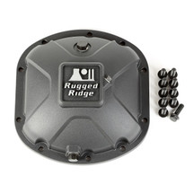 Rugged Ridge 16595.13 Boulder Aluminum Differential Cover in Black for Dana 30 Axles