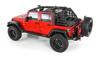 Smittybilt 581135 CRES2 Heavy Duty Cargo Restraint for Jeep Wrangler JK 4 Door 2007-2016