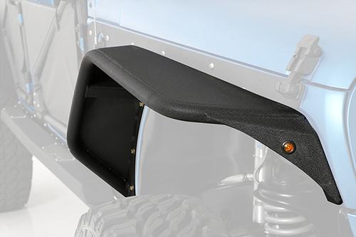Smittybilt XRC FLUX Front Fender Flares for Jeep JK & Smittybilt 76838 XRC FLUX Front Fender Flares for Jeep Wrangler JK