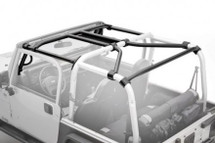 Smittybilt 76901 SRC Roll Cage Kit- 7 Piece for Jeep Wrangler JK 2 Door 2007-2010