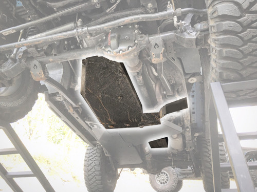 Rock Hard Transmission/Oil Pan Skid with Evap Skid