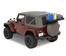 Bestop 41412-01 HighRock 4x4 Tailgate Rack Bracket for Jeep Wrangler JK 2007-2016