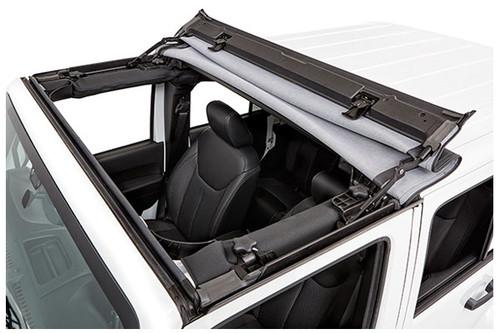 Bestop 52450-17 Sunrider in Twill for Factory Hardtop for Jeep Wrangler JK 2007-2016