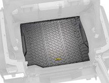 Bestop 51505-01 Rear Cargo Floor Liner for Jeep Wrangler JK 2007-2016