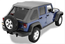 Bestop 52823-35 TrekTop NX Replace-a-Top for Jeep Wrangler JK 4 Door 2007-2016