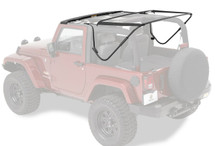 Bestop 55000-01 Factory Style Bow Kit for Jeep Wrangler JK 2 Doors with SuperTop NX Soft Top