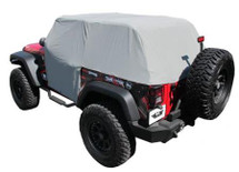 Rampage Products 1163 Waterproof Cab Cover for Jeep Wrangler JK 2007-2016