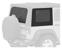 Bestop 58129-35 Tinted Window Kit in Black Diamond for Jeep Wrangler JK 2 Door with Sailcloth Replace-a-Tops 2007-2010