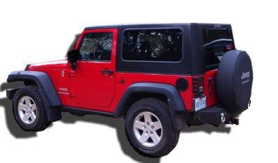 DV8 Offroad HT07SB22 Ranger 2 Hard Top For Jeep Wrangler JK 2 Door 2007 2016