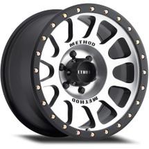 Method Race Wheel MR30568012300 MR305 NV Wheel- Matte Black Machined Face Wheel