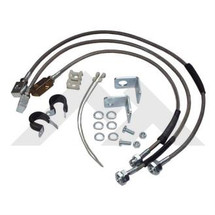 Crown Automotive CRORT31015 Front and Rear Brake Hose Kit for Jeep Wrangler TJ/LJ 1997-2006