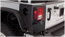 Bushwacker TrailArmor Rear Corner Guards- 2 Door (Wrangler JK 2007+)
