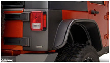 Bushwacker TrailArmor Rear Corner Guards- 4 Door (Wrangler JK 2007+)