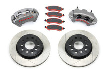 TeraFlex 4303420 Big Brake Kit with Slotted Rotors for Jeep Wrangler JK 2007-2016