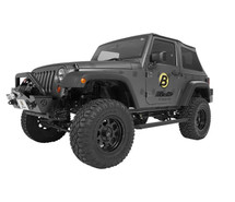 Bestop Powerboard NX Automatic Running Boards- 2 Door (Wrangler JK 2007+)