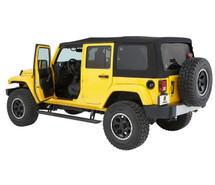Bestop Powerboard NX Automatic Running Boards- 4 Door (Wrangler JK 2007+)