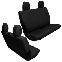 Bartact Base Line Performance Rear Bench Seat Covers- 2 Door (Wrangler JK 2013+)