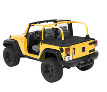 Bestop Duster Deck Cover- 2 Door with Factory Soft Top (Wrangler JK 2007-2018)