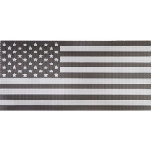Under The Sun Inserts UTS-BW Black and White American Flag Insert for Jeep Wrangler JK 2007-2017