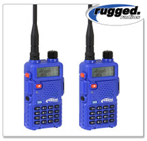 Rugged Radios RH5R-2 Dual Band Hand Held Radio Pair