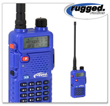 Rugged Radios RH5R Dual Band Hand Held Radio