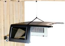 Lange Originals 014-SIM Hoist-A-Top Simple for Jeep Wrangler CJ, YJ, TJ, JK & JL 1976+