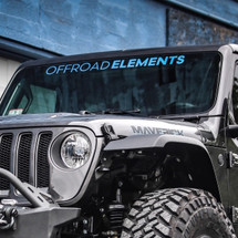 Offroad Elements Windshield Banner