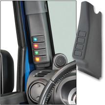 Daystar A-Pillar Switch Pod with Switches (Wrangler JK 2007-2010)