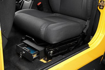 Bestop Under Seat Locking Storage Box- Driver Side (Wrangler JK 2007+)