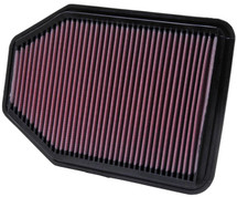 K&N 33-2364 Replacement Air Filter for Jeep JK