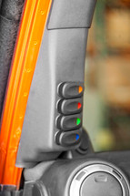 Rugged Ridge A-Pillar 4 Switch Pod Kit (Wrangler JK 2011+)