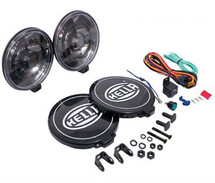 "Hella 6"" Halogen 500 Series Black Magic Light"