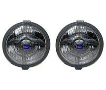 "Hella 8"" Halogen Black Magic Driving Light"