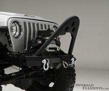 Smittybilt XRC Front Bumper with Winch Plate for Jeep Wrangler TJ & LJ 1997-2006 | 76521