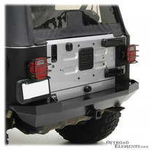 Smittybilt XRC Heavy Duty Rear Bumper for Jeep Wrangler TJ & LJ 1997-2006 | 76653