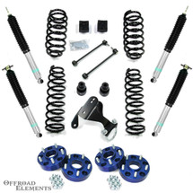 "TeraFlex 2.5"" Coil Lift w/ Bilstein Shocks & Wheel Spacers for Wrangler JK 2007+"