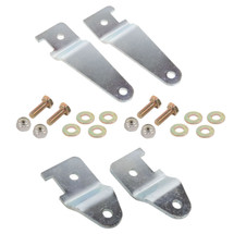 "Synergy 8082 JK Front & Rear Brake Line Relocation Bracket Kit for 0-3"" Lift for Wrangler JK 2007+"