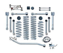 Rubicon Express RE7000 4.5 Inch Super-Flex Short Arm Lift Kit with No Shocks for Jeep Wrangler TJ/LJ 1997-2006