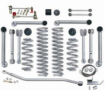 Rubicon Express RE7000-3 3.5 inch Super-Flex Short Arm Lift Kit with No Shocks for Wrangler TJ/LJ 1997-2006