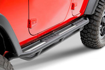 Smittybilt 76633 Rock Crawler Side Armor w/ Step 2 Door for Wrangler JK 2007+