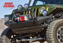 Body Armor 4x4 JK-19531 Front High Clearance Winch Bumper for Jeep Wrangler JK 2007-2016