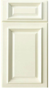 Nantucket Linen White Cabinet Door Sample