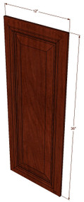 Brandywine Maple Decorative Door - 12 Inch Wide x 36 Inch High